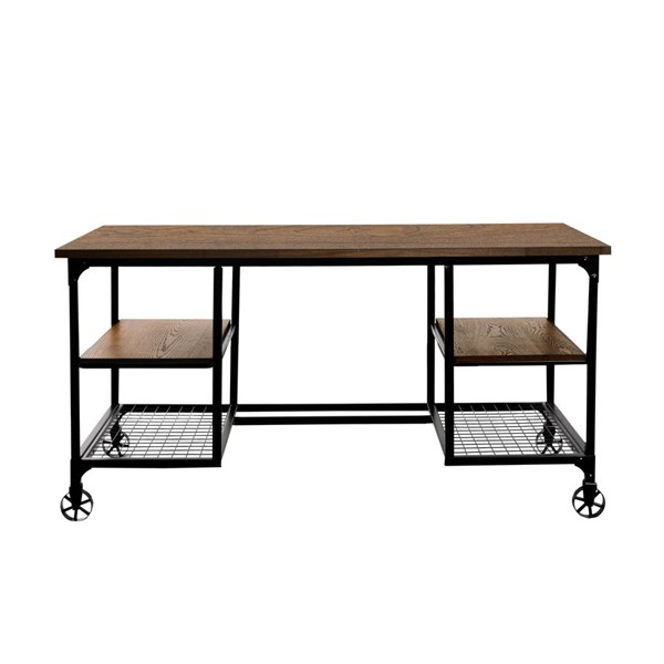 Home Elegance Millwood Distressed Ash Writing Desk HE-5099-15