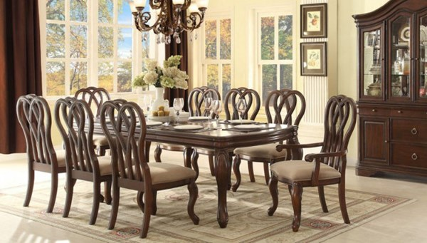 San Anselmo Traditional Cherry Wood Dining Room Set HE-5146-DR
