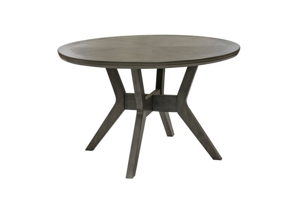 Home Elegance Nisky Gray Round Dining Table HE-5165GY-48