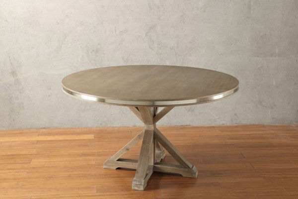 Home Elegance Beaugrand Round Dining Table HE-5177-54