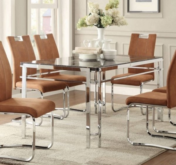 Home Elegance Watt Dining Table HE-5178-60