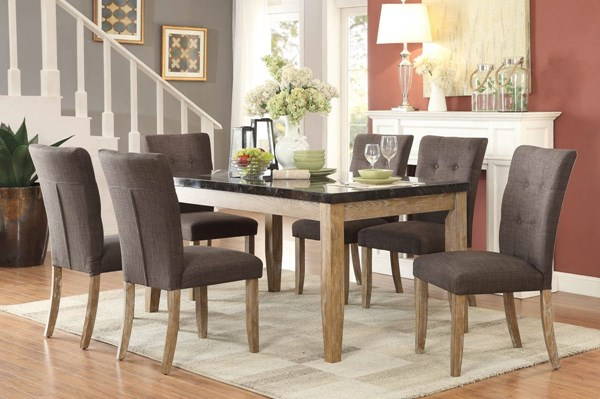 Home Elegance Huron 7pc Dining Room Set HE-5285-DR-S2