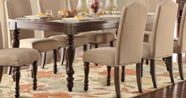 Home Elegance Benwick Cherry Dining Table HE-5425-90
