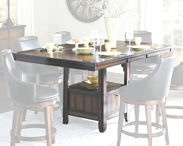 Home Elegance Bayshore Counter Height Table HE-5447-36XL