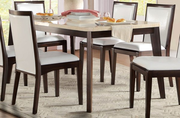 Home Elegance Tijeras Dining Table HE-5465-66