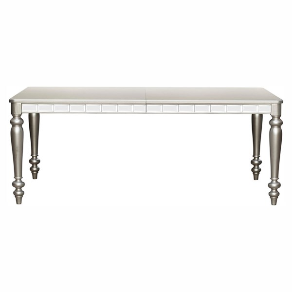 Home Elegance Orsina Silver Dining Table HE-5477N-96