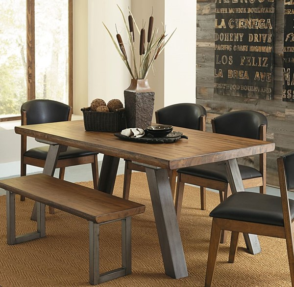 Home Elegance Hobson Dining Table HE-5478-72