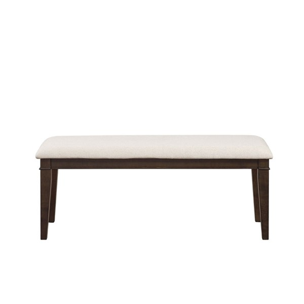Home Elegance Makah Dark Brown Neutral Bench HE-5496-13