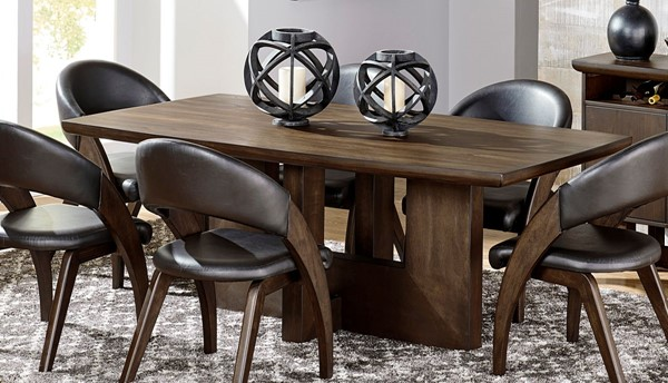 Home Elegance Onofre Brown Dining Table HE-5517-78