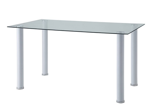 Home Elegance Florian White Dining Table HE-5538W
