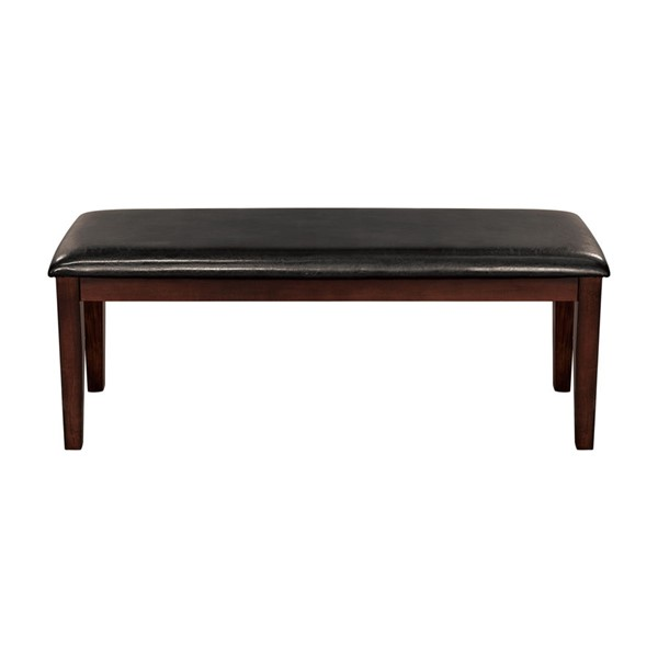 Home Elegance Mantello Cherry Brown Bench HE-5547-13