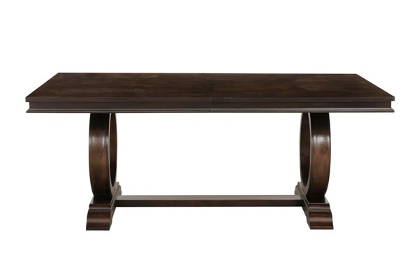 Home Elegance Oratorio Cherry Dining Table HE-5562-96