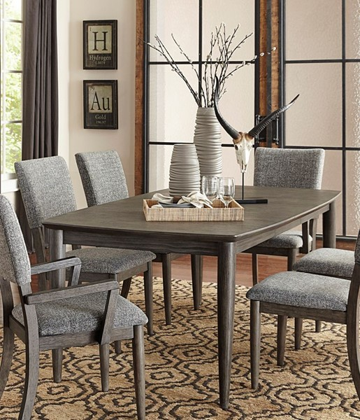 Home Elegance Roux Gray Dining Table HE-5568-78