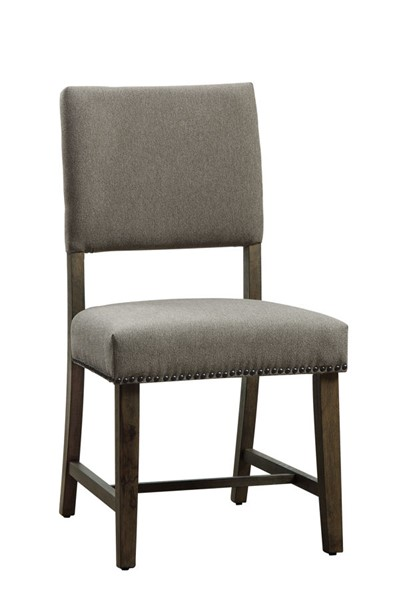 2 Home Elegance Wheaten Natural Side Chairs HE-5580S