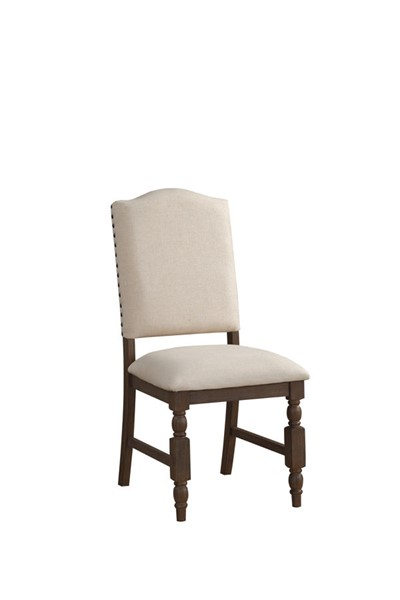 2 Home Elegance Chartreaux Birch Side Chairs HE-5589S