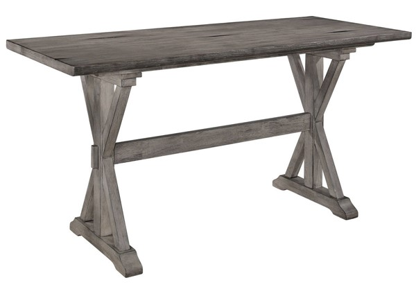 Home Elegance Amsonia Gray Counter Height Table HE-5602-36