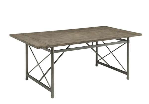 Home Elegance Springer Ash Gray Dining Table HE-5608-76