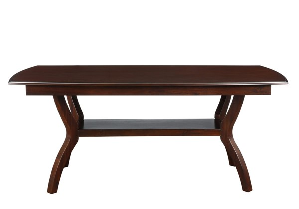 Home Elegance Whitby Dark Cherry Dining Table HE-5617-72