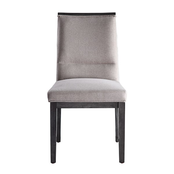 2 Home Elegance Standish Gray Beige Side Chairs HE-5642GYS