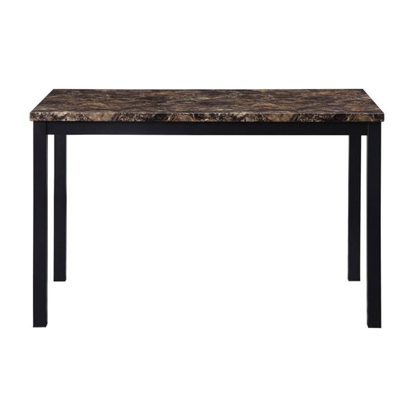 Home Elegance Waite Black Dining Table HE-5663-48