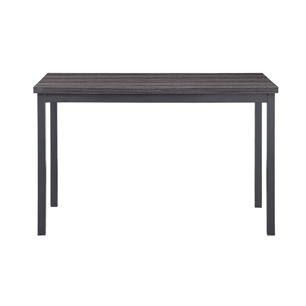 Home Elegance Tripp Silver Gray Dining Table HE-5664-48