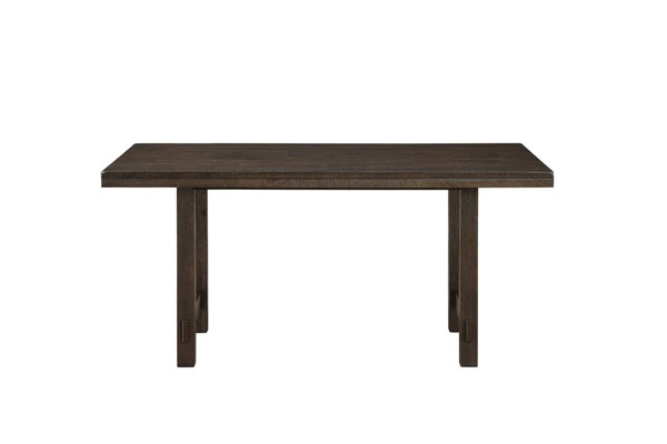Home Elegance Brim Brown Cherry Dining Table HE-5683-64