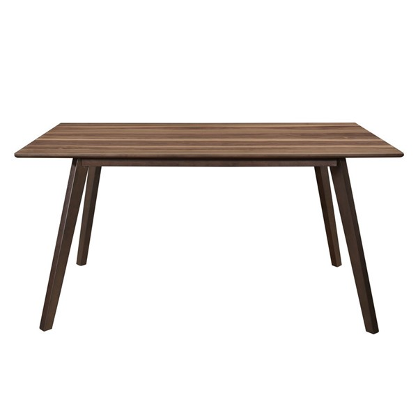 Home Elegance Steer Walnut Espresso Dining Table HE-5701