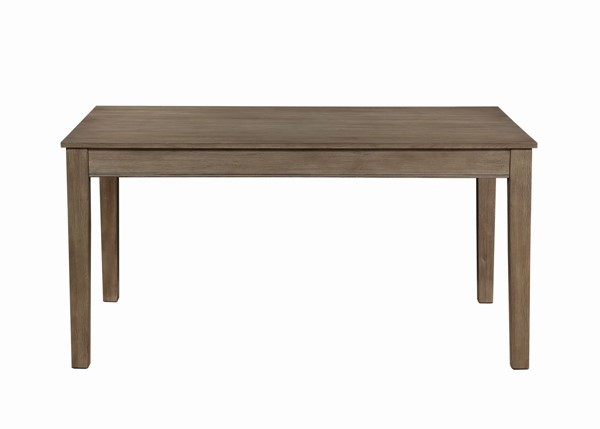 Home Elegance Armhurst Wirebrush Brown Dining Table HE-5706-60