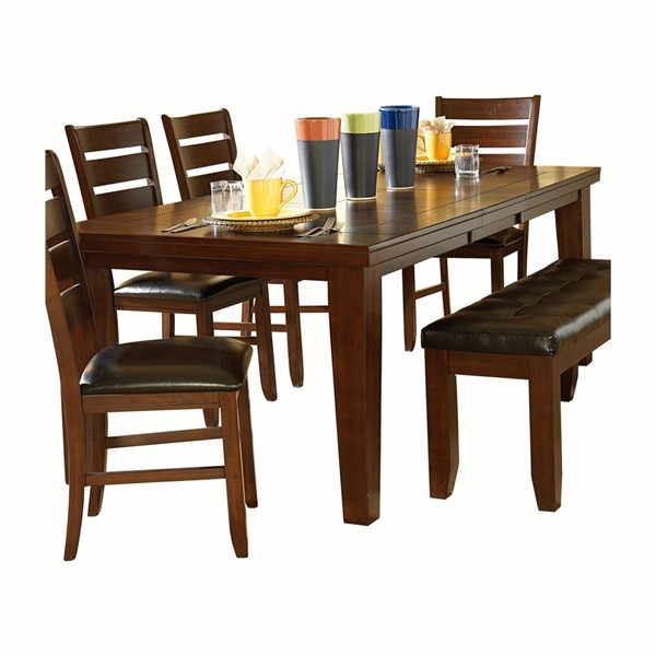 Home Elegance Ameillia Brown Dining Table HE-586-82