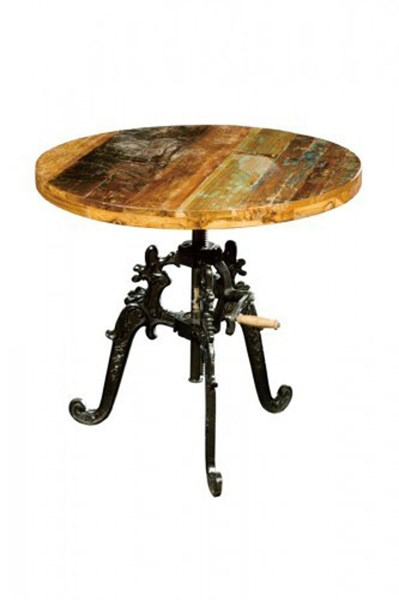 Amara Contemporary Iron Solid Wood Lift Table Top HE-6472