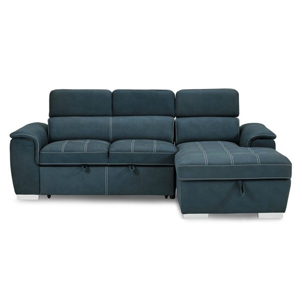 Home Elegance Ferriday Sectionals with Ottoman HE-8228-SEC-S