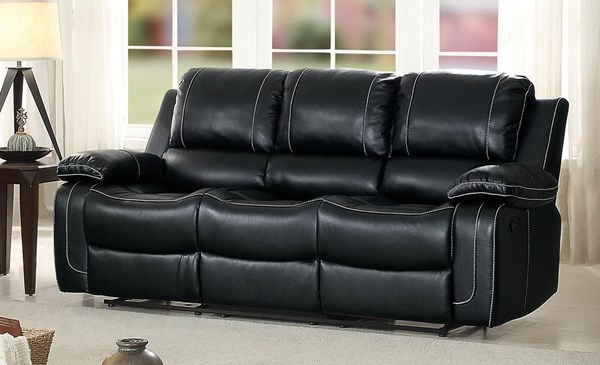 Home Elegance Oriole Double Reclining Sofas With Cup Holders HE-8334-SF-VAR