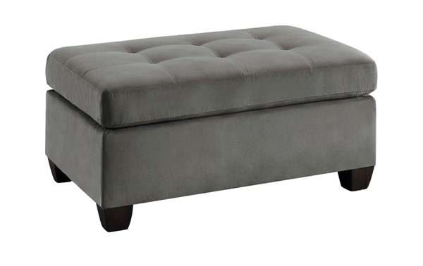 Home Elegance Emilio Taupe Ottoman HE-8367TP-4