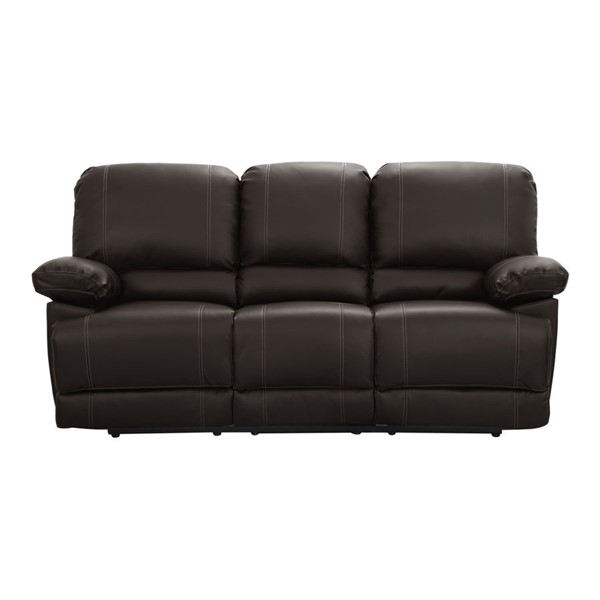 Home Elegance Cassville Double Reclining Sofa with Center Drop Down Cup Holders HE-8403-3