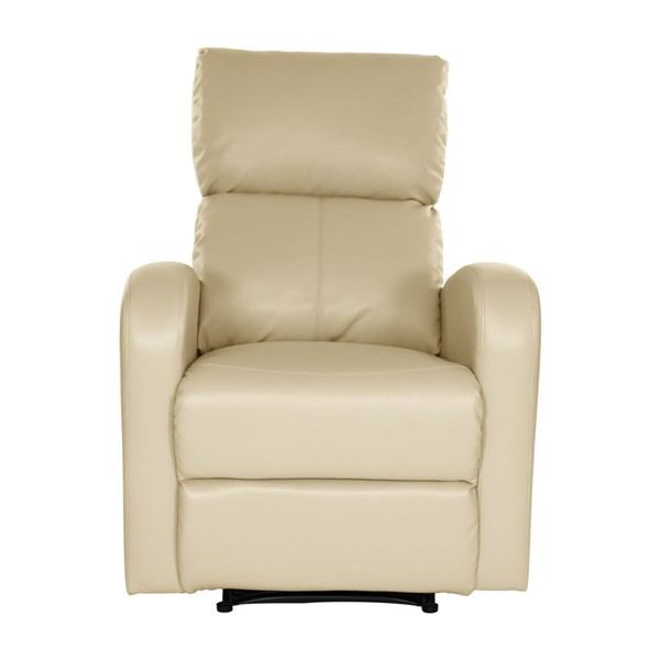 Home Elegance Mendon Taupe Reclining Chair HE-8404TP-1