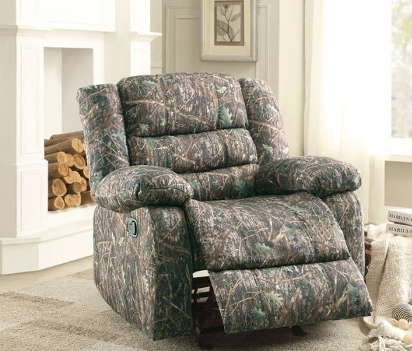 Berger Camouflage Polyester Glider Reclining Chair HE-8417-1