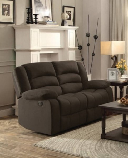 Greenville Fabric Double Reclining Loveseat HE-8436-LS-VAR