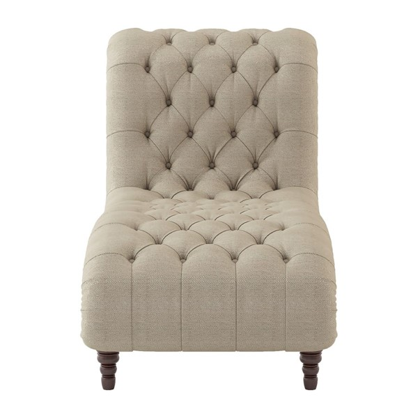Home Elegance St Claire Brown Tone Chaise HE-8469-5