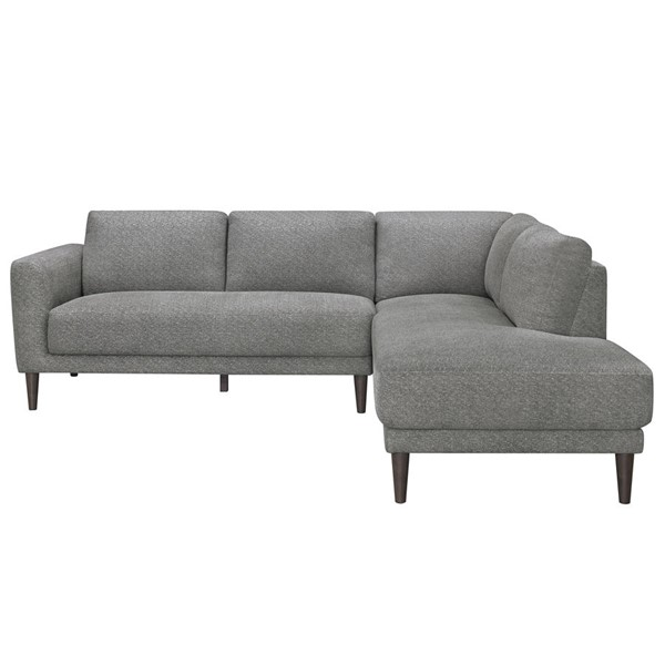 Home Elegance Garibaldi Gray 2pc Sectional Set HE-9515GY-SEC