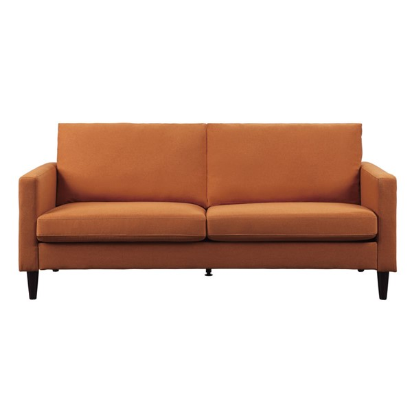 Home Elegance Halliday Orange Sofa HE-9538RN-3