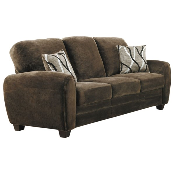 Home Elegance Rubin Chocolate Sofa HE-9734CH-3
