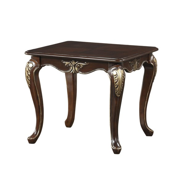 Home Elegance Croydon Rich Cherry End Table HE-9815-04