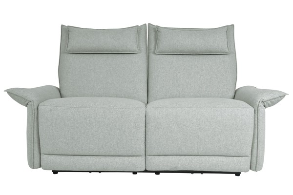 Home Elegance Linette Power Double Reclining Love Seats HE-9819-2PWH-VAR