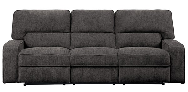 Home Elegance Borneo Power Double Reclining Sofas HE-9849-3PWH-SF-VAR