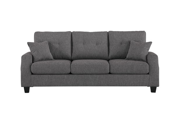 Home Elegance Vossel Gray Sofa HE-9899GY-3