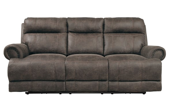 Home Elegance Aggiano Dark Brown Double Reclining Sofa HE-9911DBR-3
