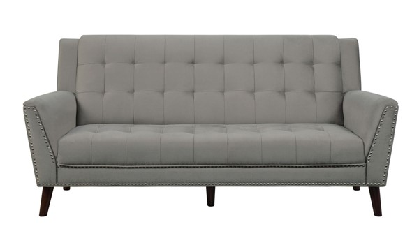 Home Elegance Broadview Fawn Fabric Sofa HE-9977BR-3