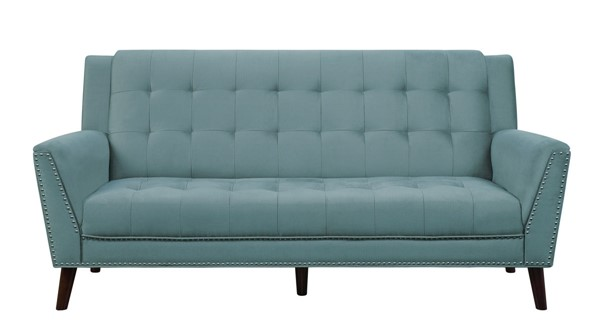Home Elegance Broadview Gray Fabric Sofa HE-9977FG-3