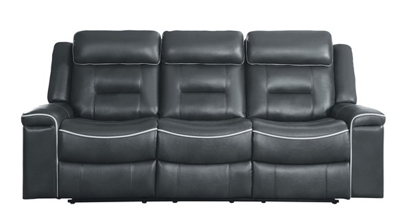 Home Elegance Darwan Leather Reclining Sofa HE-9999-SF-VAR