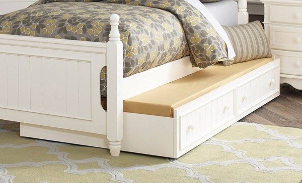 Clementine Classic White Wood Twin Trundle HE-B1799-R